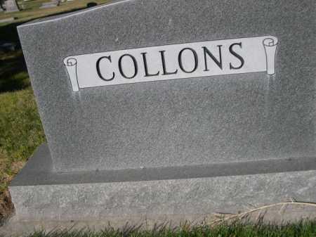 COLLONS, FAMILY - Dawes County, Nebraska | FAMILY COLLONS - Nebraska Gravestone Photos