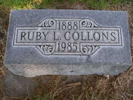 COLLONS, RUBY L. - Dawes County, Nebraska | RUBY L. COLLONS - Nebraska Gravestone Photos