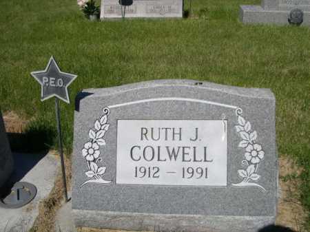 COLWELL, RUTH J. - Dawes County, Nebraska | RUTH J. COLWELL - Nebraska Gravestone Photos