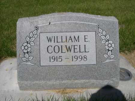 COLWELL, WILLIAM E. - Dawes County, Nebraska | WILLIAM E. COLWELL - Nebraska Gravestone Photos