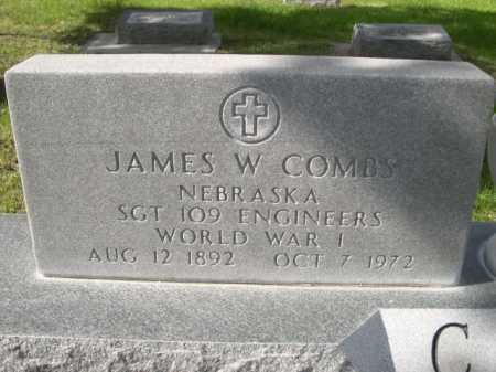COMBS, JAMES W. - Dawes County, Nebraska | JAMES W. COMBS - Nebraska Gravestone Photos