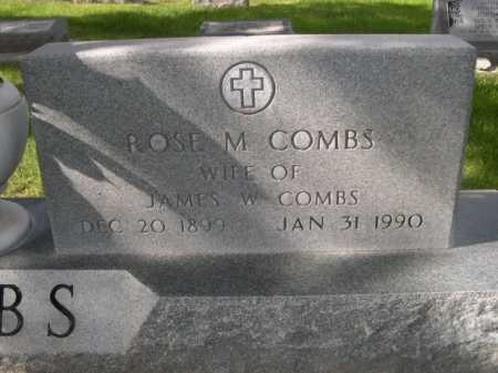 COMBS, ROSE M. - Dawes County, Nebraska   ROSE M. COMBS - Nebraska Gravestone Photos