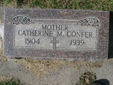 CONFER, CATHERINE M. - Dawes County, Nebraska   CATHERINE M. CONFER - Nebraska Gravestone Photos