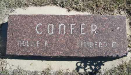 CONFER, NELLIE F. - Dawes County, Nebraska | NELLIE F. CONFER - Nebraska Gravestone Photos