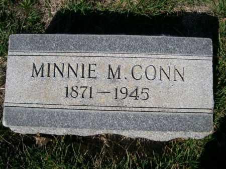 CONN, MINNIE M. - Dawes County, Nebraska | MINNIE M. CONN - Nebraska Gravestone Photos