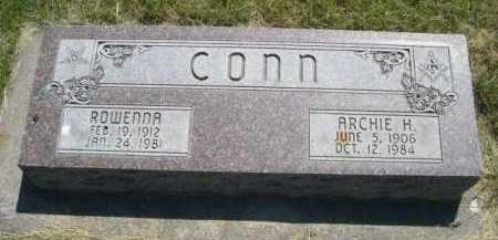 CONN, ARCHIE H. - Dawes County, Nebraska | ARCHIE H. CONN - Nebraska Gravestone Photos