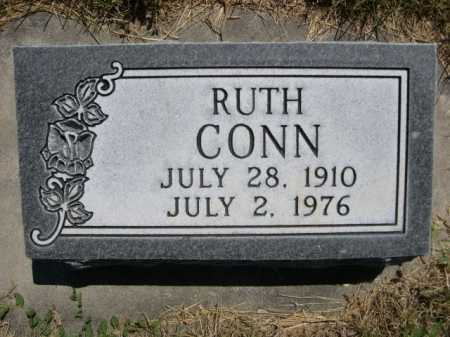 CONN, RUTH - Dawes County, Nebraska | RUTH CONN - Nebraska Gravestone Photos