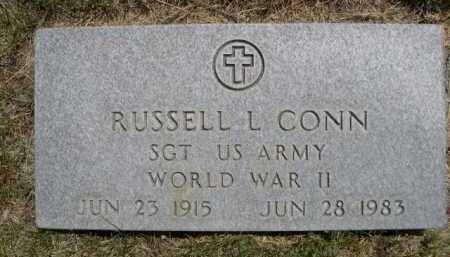 CONN, RUSSELL L. - Dawes County, Nebraska | RUSSELL L. CONN - Nebraska Gravestone Photos