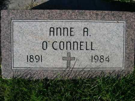 O'CONNELL, ANNE A. - Dawes County, Nebraska | ANNE A. O'CONNELL - Nebraska Gravestone Photos