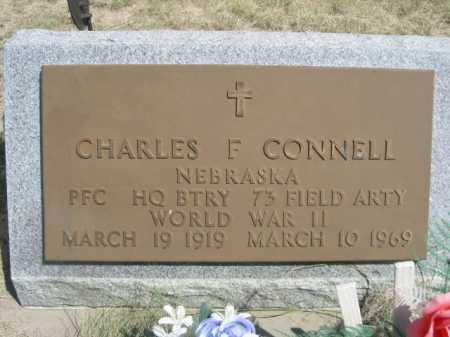 CONNELL, CHARLES F. - Dawes County, Nebraska   CHARLES F. CONNELL - Nebraska Gravestone Photos
