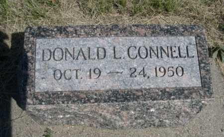 CONNELL, DONALD L. - Dawes County, Nebraska | DONALD L. CONNELL - Nebraska Gravestone Photos