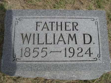 CONNELL, WILLIAM D. - Dawes County, Nebraska   WILLIAM D. CONNELL - Nebraska Gravestone Photos