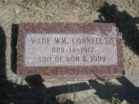 CONNELL, WADE WM. - Dawes County, Nebraska   WADE WM. CONNELL - Nebraska Gravestone Photos