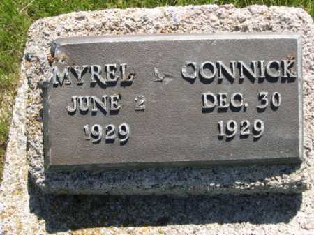 CONNICK, MYREL - Dawes County, Nebraska   MYREL CONNICK - Nebraska Gravestone Photos