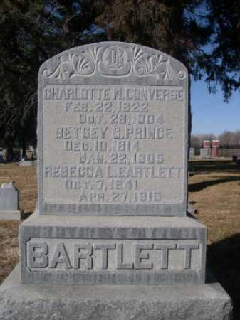 BARTLETT, REBECCA L. - Dawes County, Nebraska | REBECCA L. BARTLETT - Nebraska Gravestone Photos
