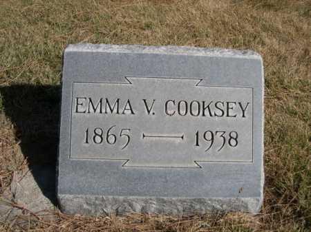 COOKSEY, EMMA V. - Dawes County, Nebraska | EMMA V. COOKSEY - Nebraska Gravestone Photos