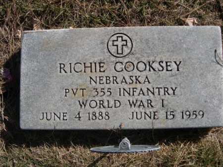 COOKSEY, RICHIE - Dawes County, Nebraska | RICHIE COOKSEY - Nebraska Gravestone Photos