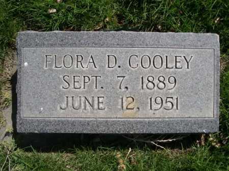 COOLEY, FLORA D. - Dawes County, Nebraska   FLORA D. COOLEY - Nebraska Gravestone Photos