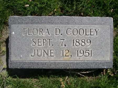 COOLEY, FLORA D. - Dawes County, Nebraska | FLORA D. COOLEY - Nebraska Gravestone Photos