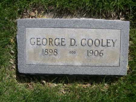 COOLEY, GEORGE D. - Dawes County, Nebraska | GEORGE D. COOLEY - Nebraska Gravestone Photos