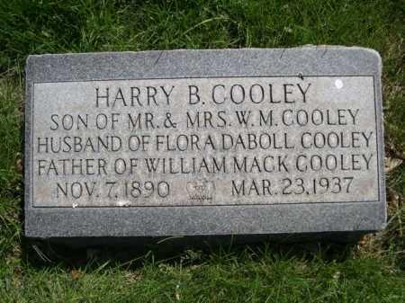 COOLEY, HARRY B. - Dawes County, Nebraska   HARRY B. COOLEY - Nebraska Gravestone Photos
