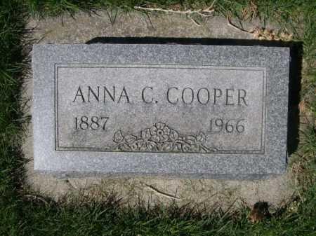 COOPER, ANNA C. - Dawes County, Nebraska | ANNA C. COOPER - Nebraska Gravestone Photos