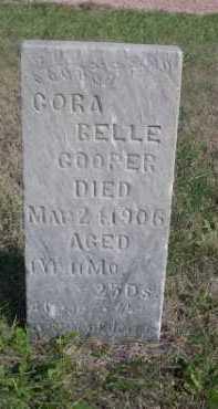 COOPER, CORA BELLE - Dawes County, Nebraska | CORA BELLE COOPER - Nebraska Gravestone Photos