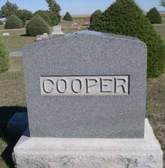 COOPER, FAMILY - Dawes County, Nebraska | FAMILY COOPER - Nebraska Gravestone Photos