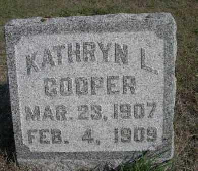 COOPER, KATHRYN L. - Dawes County, Nebraska | KATHRYN L. COOPER - Nebraska Gravestone Photos