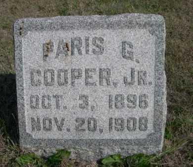COOPER, PARIS G. JR. - Dawes County, Nebraska | PARIS G. JR. COOPER - Nebraska Gravestone Photos