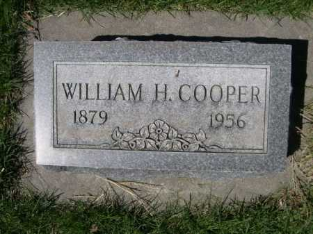 COOPER, WILLAIM H. - Dawes County, Nebraska | WILLAIM H. COOPER - Nebraska Gravestone Photos