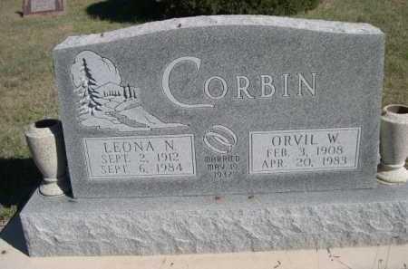 CORBIN, ORVIL W. - Dawes County, Nebraska | ORVIL W. CORBIN - Nebraska Gravestone Photos