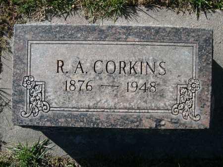 CORKINS, R.A. - Dawes County, Nebraska | R.A. CORKINS - Nebraska Gravestone Photos
