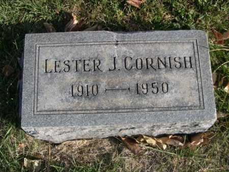 CORNISH, LESTER J. - Dawes County, Nebraska | LESTER J. CORNISH - Nebraska Gravestone Photos