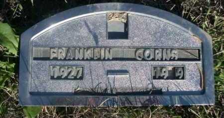 CORNS, FRANKLIN - Dawes County, Nebraska | FRANKLIN CORNS - Nebraska Gravestone Photos
