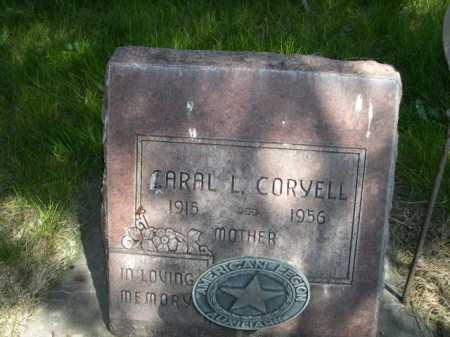 CORYELL, CARAL L. - Dawes County, Nebraska | CARAL L. CORYELL - Nebraska Gravestone Photos