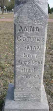 COTTERMAN, ANNA - Dawes County, Nebraska | ANNA COTTERMAN - Nebraska Gravestone Photos
