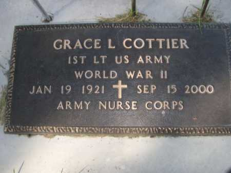 COTTIER, GRACE L. - Dawes County, Nebraska | GRACE L. COTTIER - Nebraska Gravestone Photos