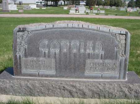 COTTIER, CHARLES A. - Dawes County, Nebraska | CHARLES A. COTTIER - Nebraska Gravestone Photos