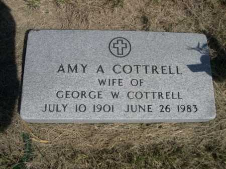 COTTRELL, AMY A. - Dawes County, Nebraska | AMY A. COTTRELL - Nebraska Gravestone Photos