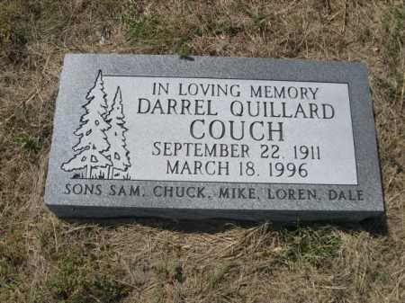 COUCH, DARREL QUILLARD - Dawes County, Nebraska   DARREL QUILLARD COUCH - Nebraska Gravestone Photos
