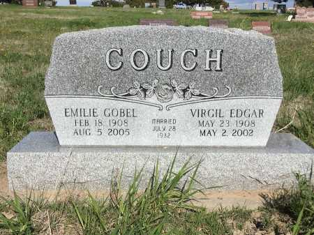 COUCH, VIRGIL EDGAR - Dawes County, Nebraska | VIRGIL EDGAR COUCH - Nebraska Gravestone Photos