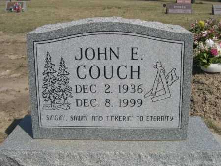 COUCH, JOHN E. - Dawes County, Nebraska | JOHN E. COUCH - Nebraska Gravestone Photos