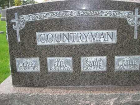 COUNTRYMAN, ELLA - Dawes County, Nebraska | ELLA COUNTRYMAN - Nebraska Gravestone Photos