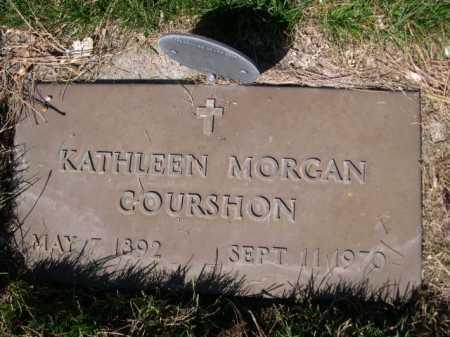 MORGAN COURSHON, KAHTLEEN MORGAN - Dawes County, Nebraska   KAHTLEEN MORGAN MORGAN COURSHON - Nebraska Gravestone Photos