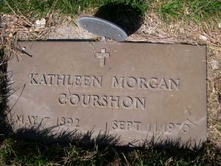 MORGAN COURSHON, KAHTLEEN MORGAN - Dawes County, Nebraska | KAHTLEEN MORGAN MORGAN COURSHON - Nebraska Gravestone Photos