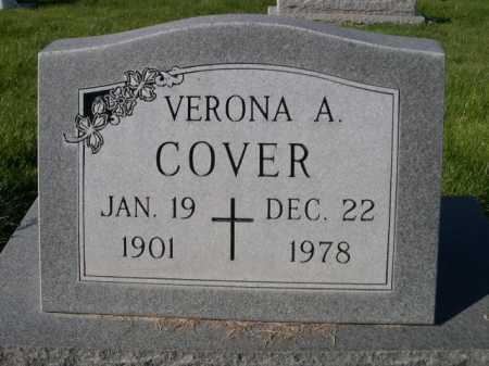 COVER, VERONA A. - Dawes County, Nebraska | VERONA A. COVER - Nebraska Gravestone Photos