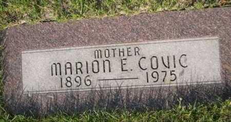 COVIC, MARION E. - Dawes County, Nebraska | MARION E. COVIC - Nebraska Gravestone Photos