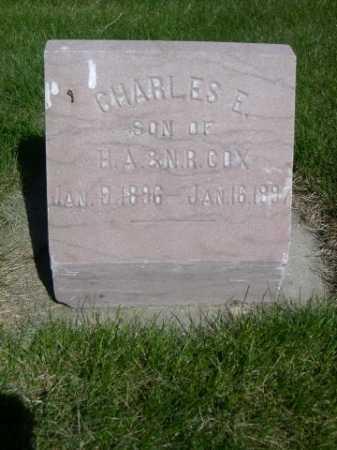 COX, CHARLES E. - Dawes County, Nebraska | CHARLES E. COX - Nebraska Gravestone Photos