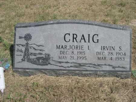 CRAIG, MARJORIE I. - Dawes County, Nebraska   MARJORIE I. CRAIG - Nebraska Gravestone Photos